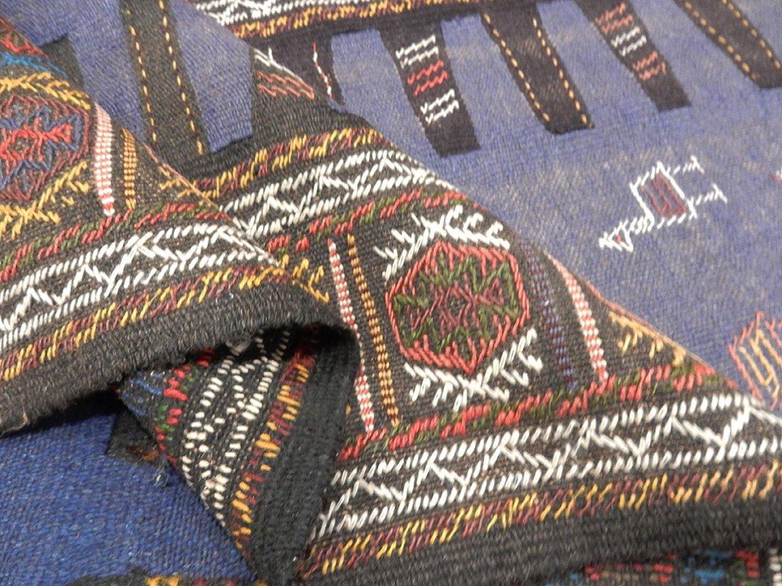 Semi-Antique Persian Killim Rug, 3x7 - 2