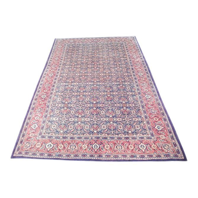 Faded Colors Persian Tabriz Mahi Rug, 7x10