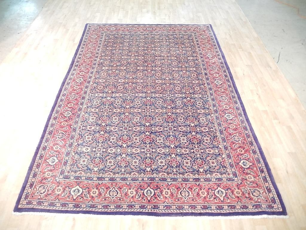 Faded Colors Persian Tabriz Mahi Rug, 7x10 - 2
