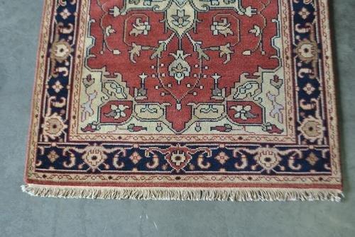 Traditional Handmade Heriz Design Rug, 4x6 - 3