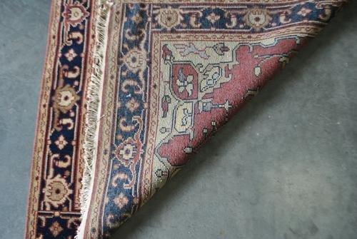 Traditional Handmade Heriz Design Rug, 4x6 - 4