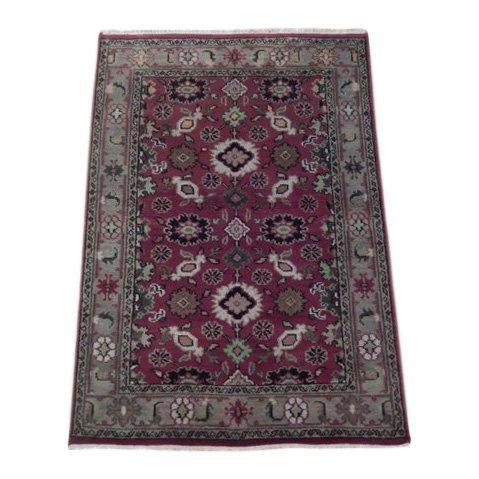 Mahal Traditional Wool Area Rug, 4x6