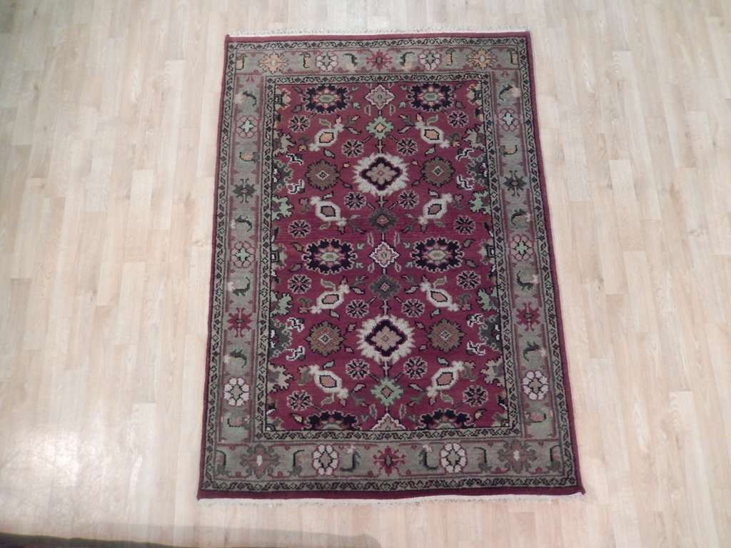 Mahal Traditional Wool Area Rug, 4x6 - 2