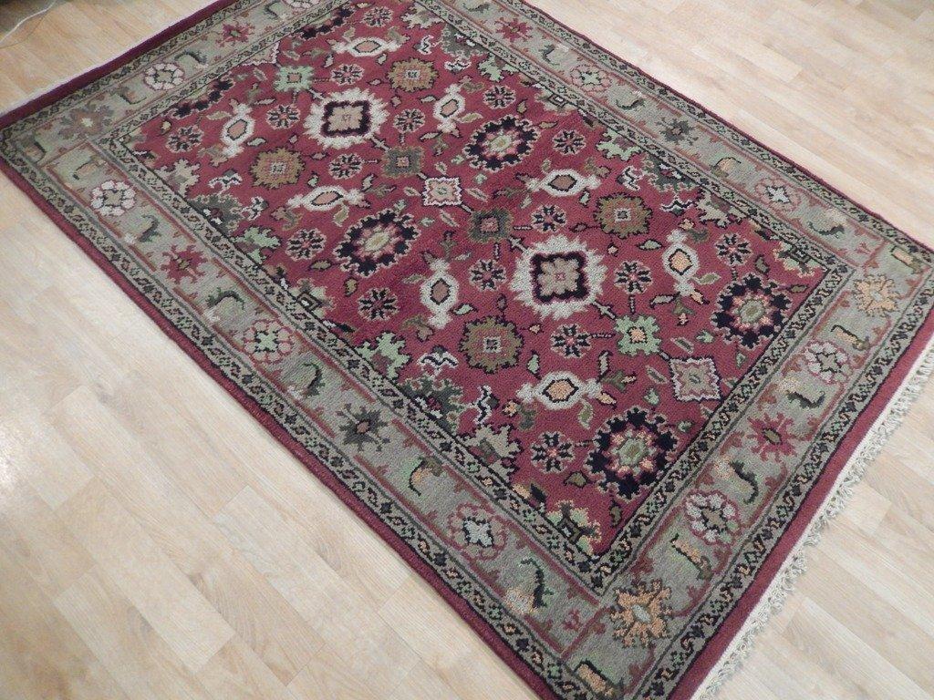 Mahal Traditional Wool Area Rug, 4x6 - 3