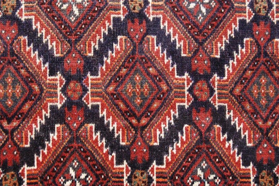 Symmetrical Design Persian Balooch Rug, 4x7 - 3
