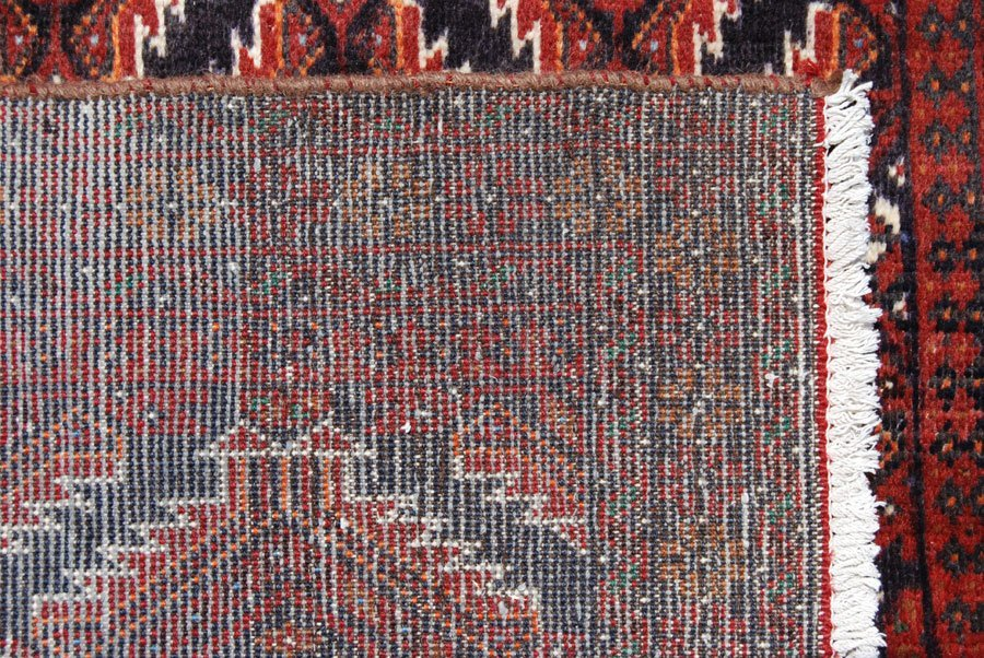 Symmetrical Design Persian Balooch Rug, 4x7 - 4