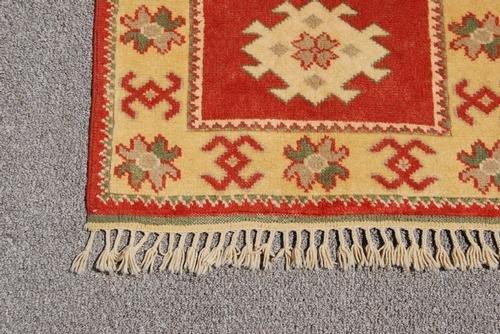 Semi-Antique Turkish Konya Rug, 3x4 - 3