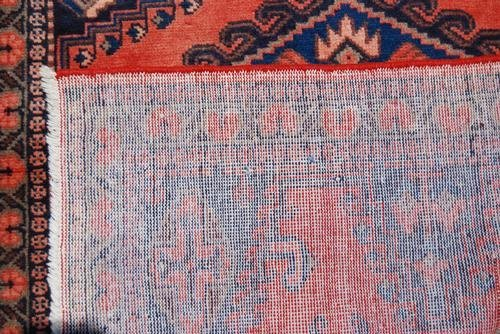 Authentic Handmade Persian Veese Rug, 4x5 - 4