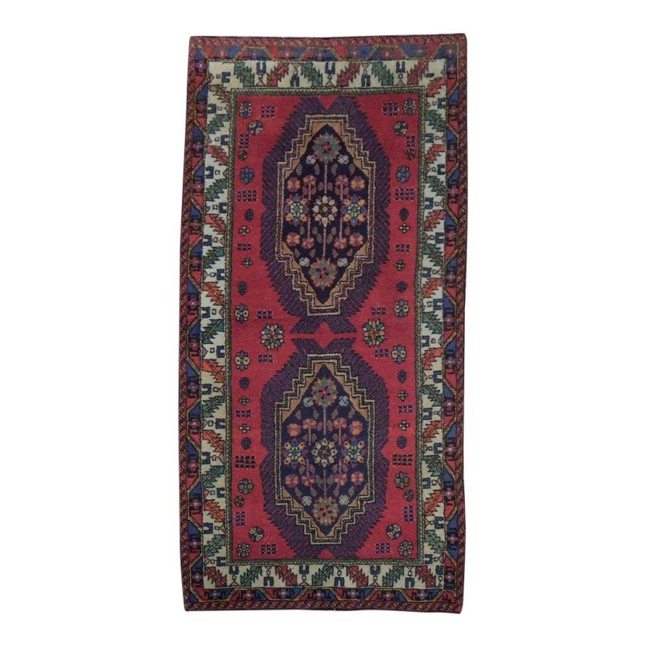 Semi-Antique Northwest Persian Rug, 3x7