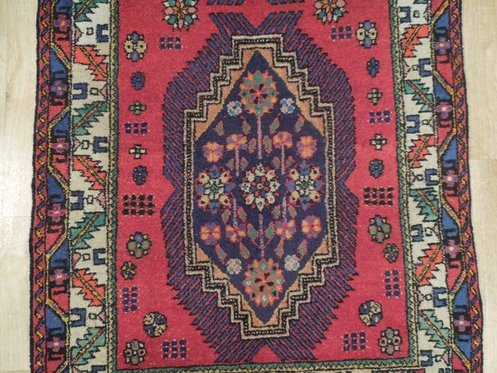 Semi-Antique Northwest Persian Rug, 3x7 - 4