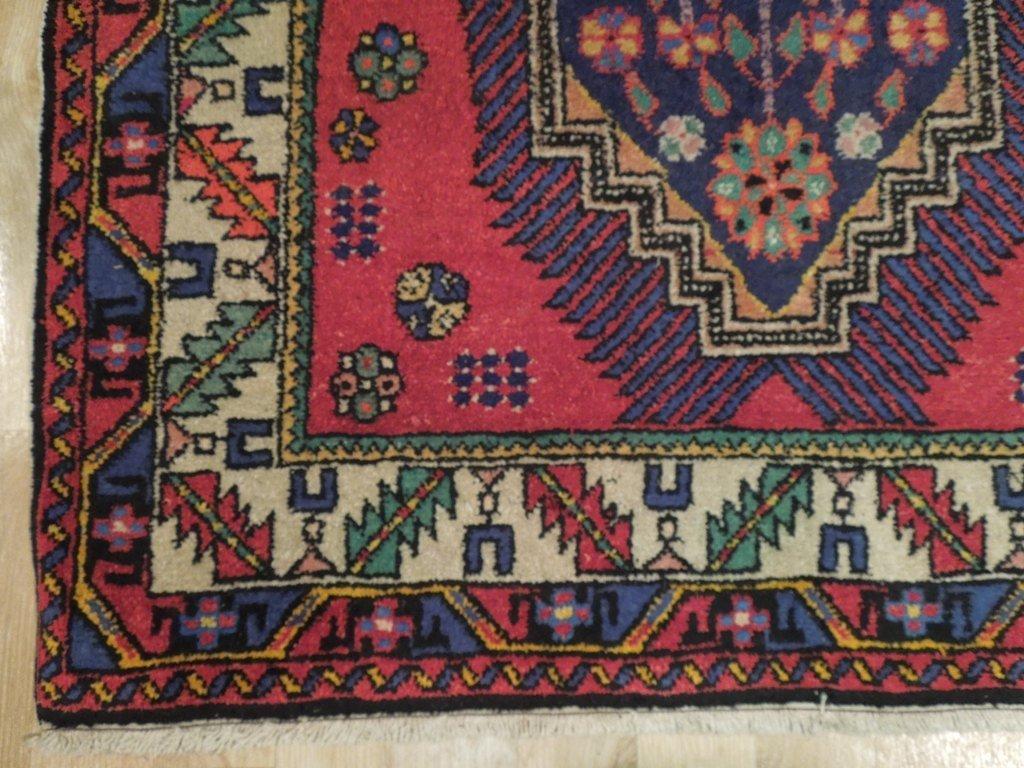 Semi-Antique Northwest Persian Rug, 3x7 - 5