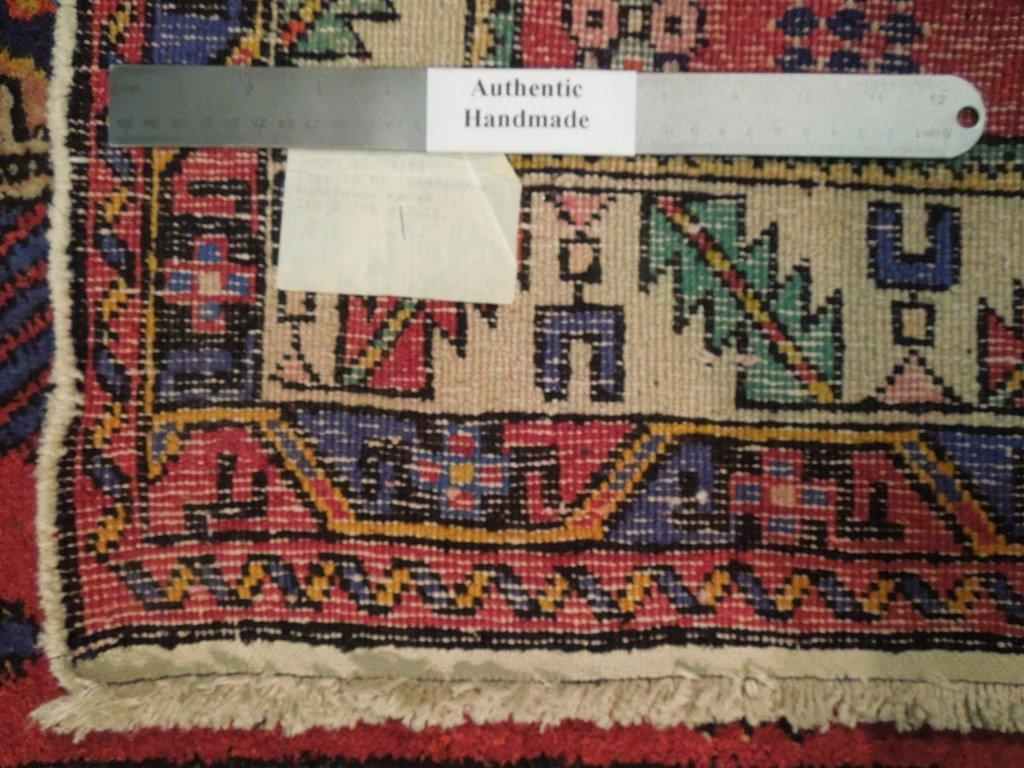 Semi-Antique Northwest Persian Rug, 3x7 - 6