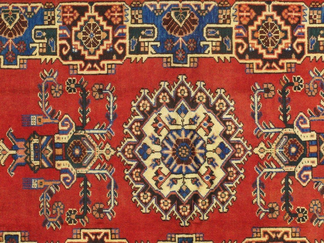 Rare Tabriz Hand Knotted Area Rug, 4x7 - 4