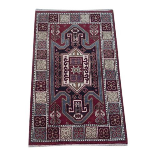 Eagle Kazak Traditional Geometric Design Rug, 3x5