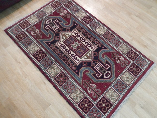 Eagle Kazak Traditional Geometric Design Rug, 3x5 - 3