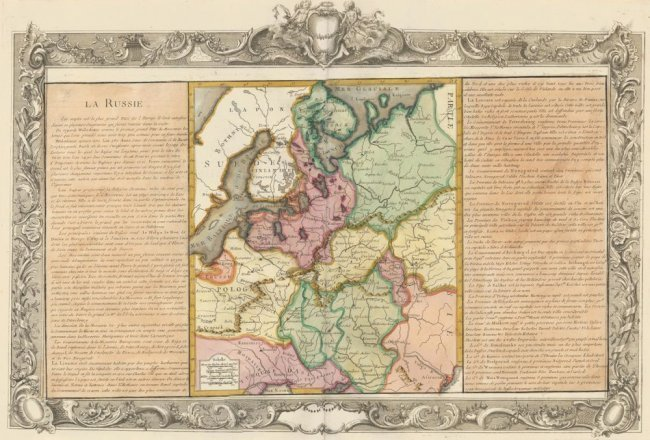 Western Russia and Poland. Jean-Baptiste Louis Clouet.