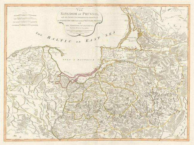 The Kingdom of Prussia. Thomas Kitchin.