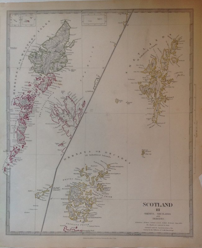 Scotland III Orkneys, Shetlands, and Hebrides