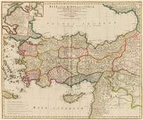 Asia Minor and Syria. Jean Baptiste D'Anvillle.