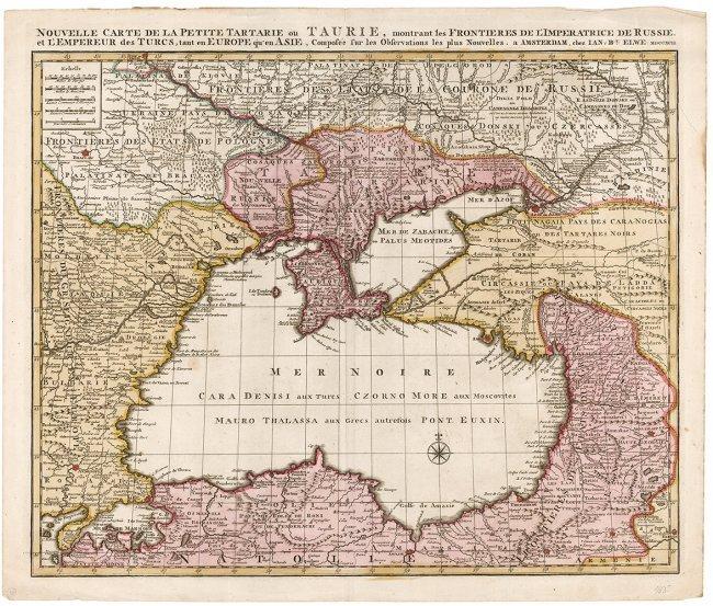 Area surrounding the Black Sea.