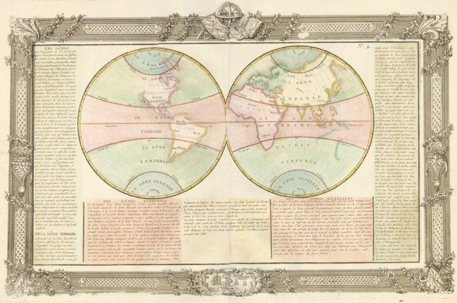 Climate Zones. Jean-Baptiste Louis Clouet.