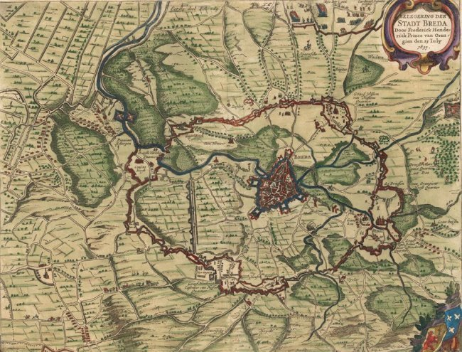 Eighty Years War Battles (Netherlands). Danckerts