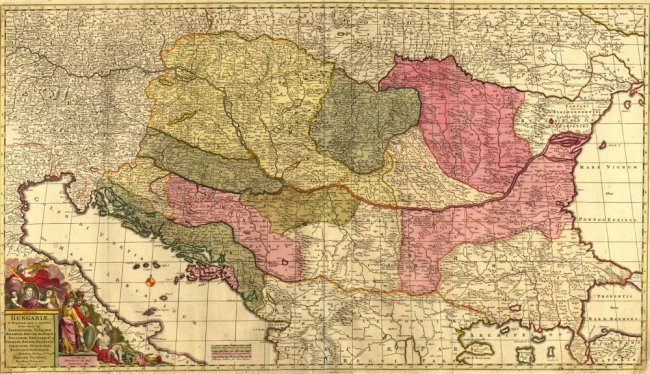 Kingdom of Hungary. Frederick De Wit.