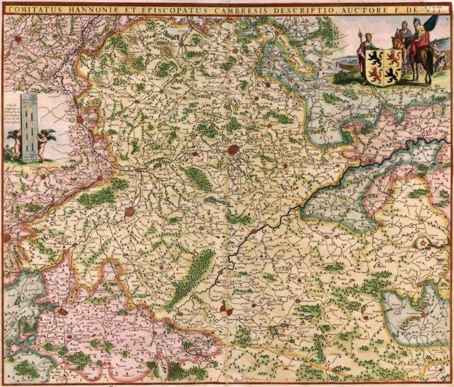 Hainaut, Belgium. Frederick De Wit.