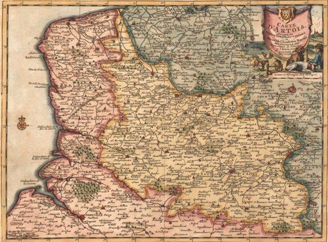 Carte d'Artois, Belgium