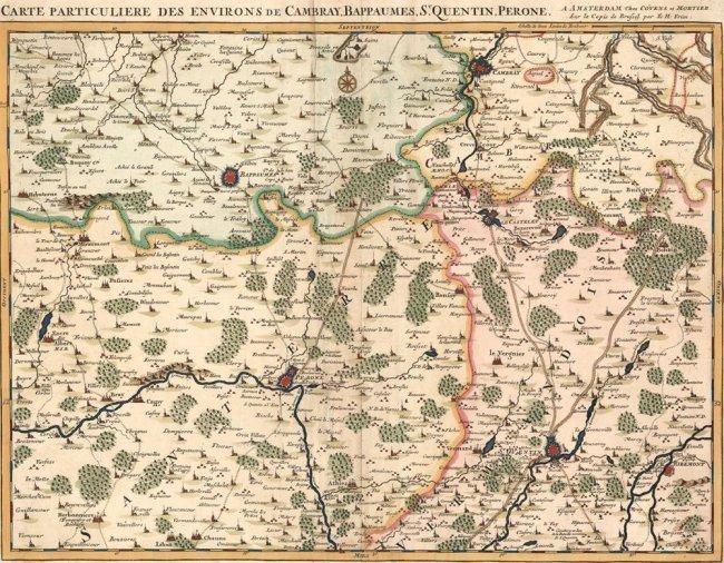 Environs d'Arthois du Boulenois. Eugène Henry Fricx