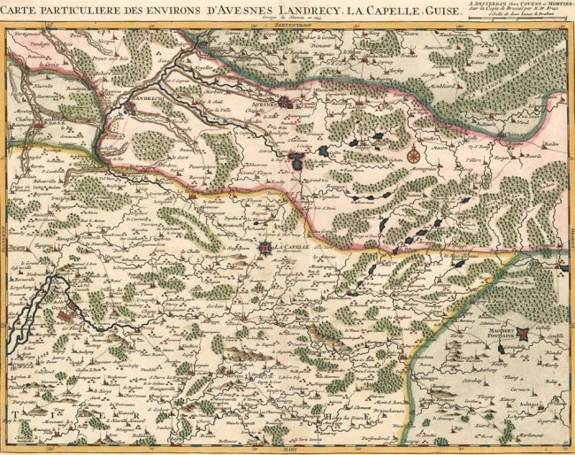 Environs D'Avesnes Landrecy. Jean Covens