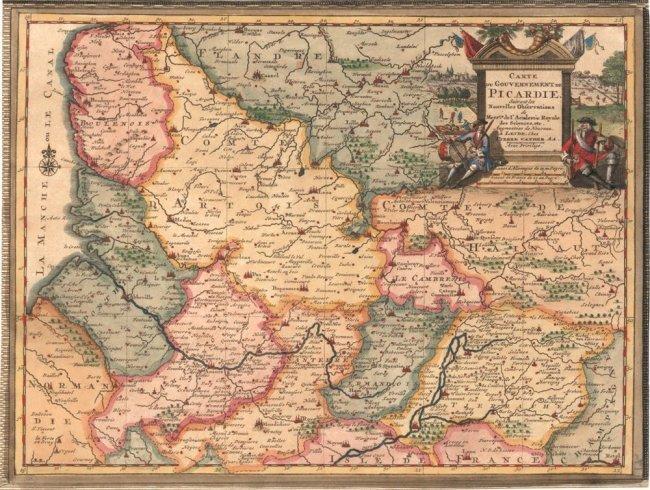 Gouvernement de Picardie (France). Pierre Van der Aa