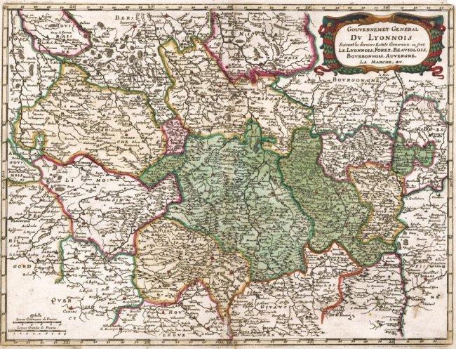 Gouvernement Du Lyonnois (Lyon). Sanson & Mariette