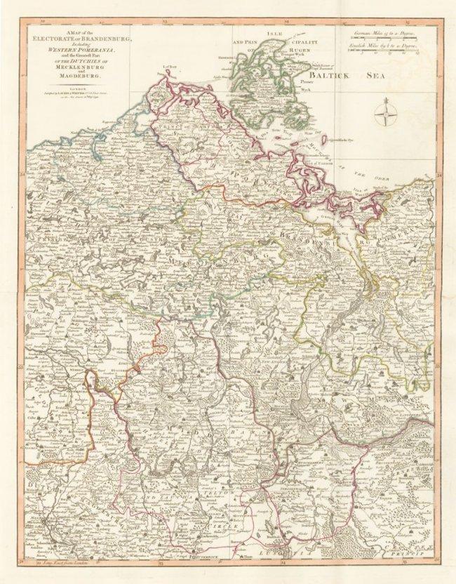 Electorate of Brandenburg, Germany. Thomas Kitchin.