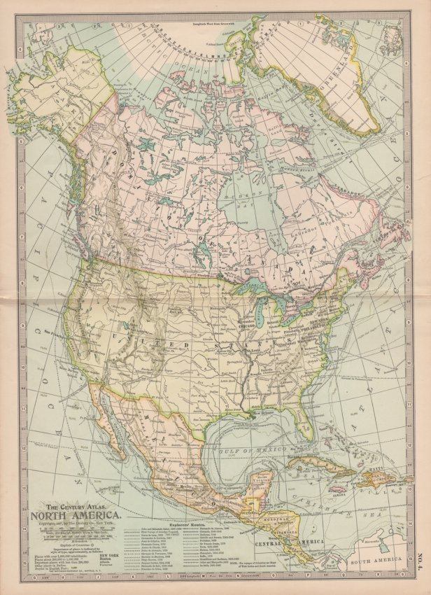 The Century Atlas. North America