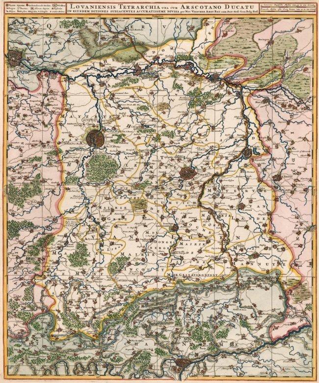 Lovaniensis Tetrarchia. Nicolas Visscher