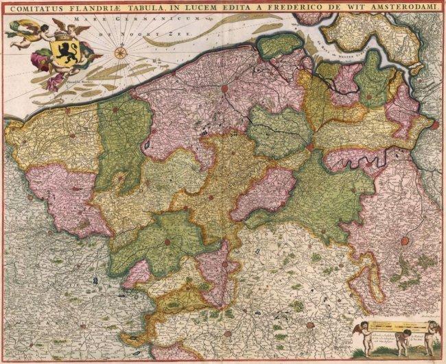 County of Flanders. Frederick De Wit.