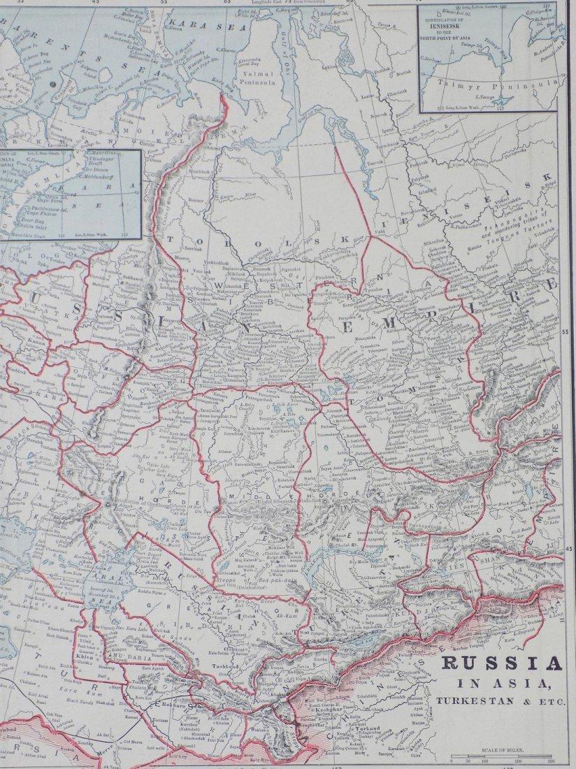 Map of Russia in Asia (Turkestan), 1902 - 2