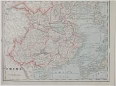 Map of China, 1902