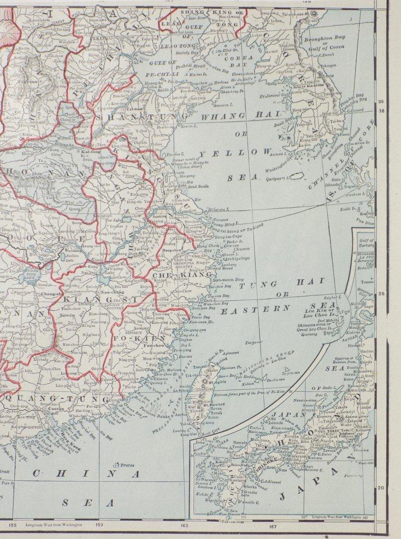 Map of China, 1902 - 4