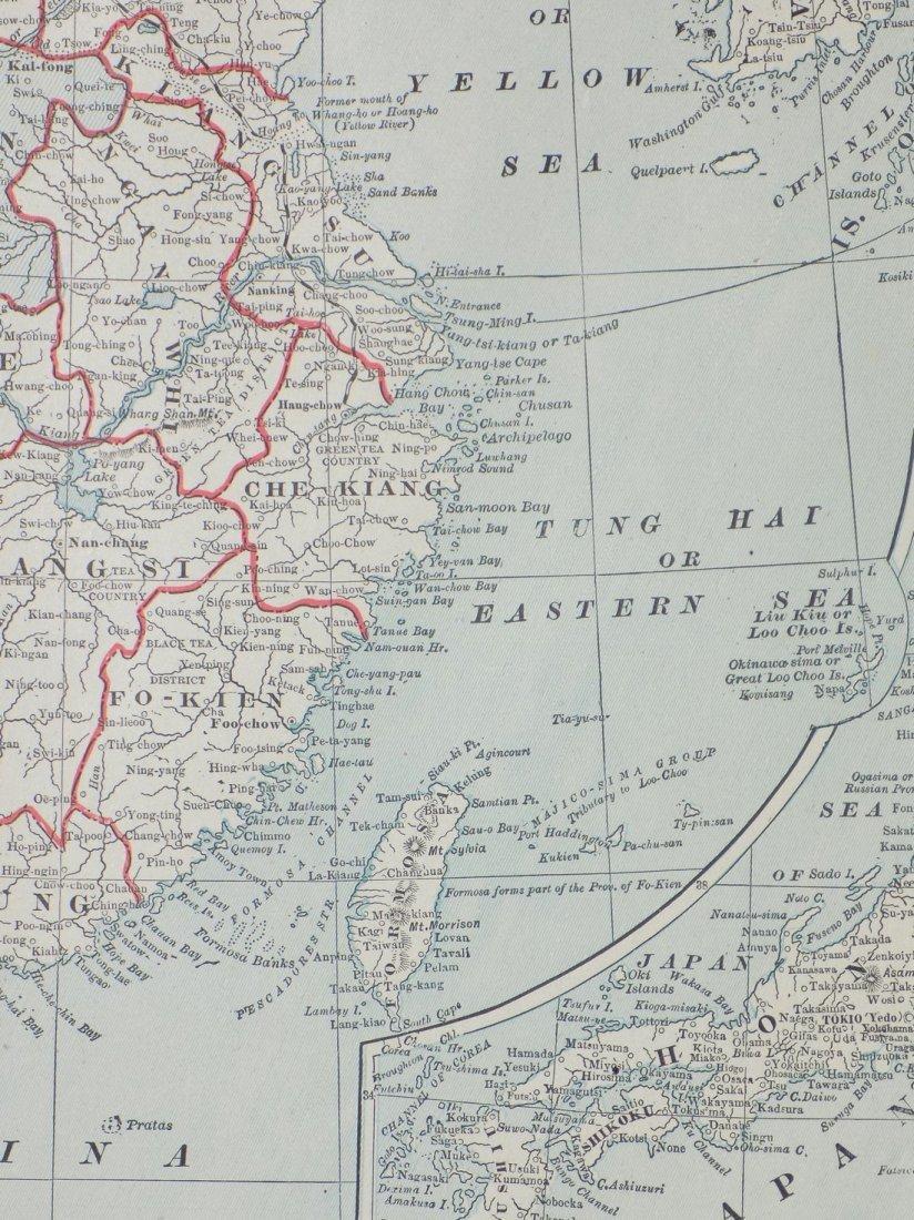 Map of China, 1902 - 6