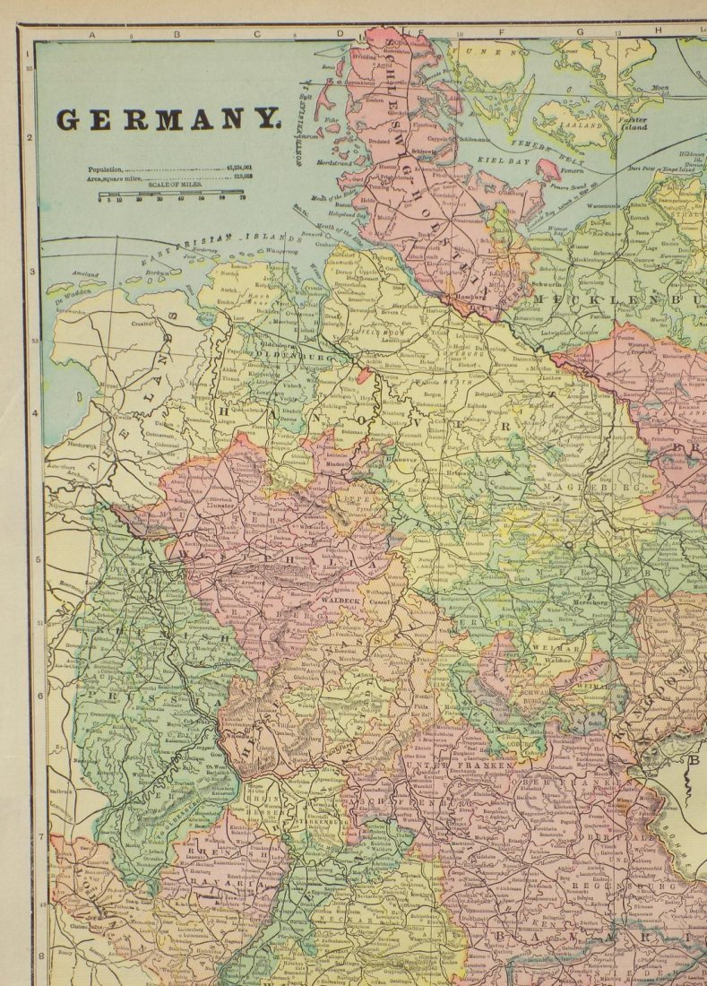 Map of Germany, 1902 - 2