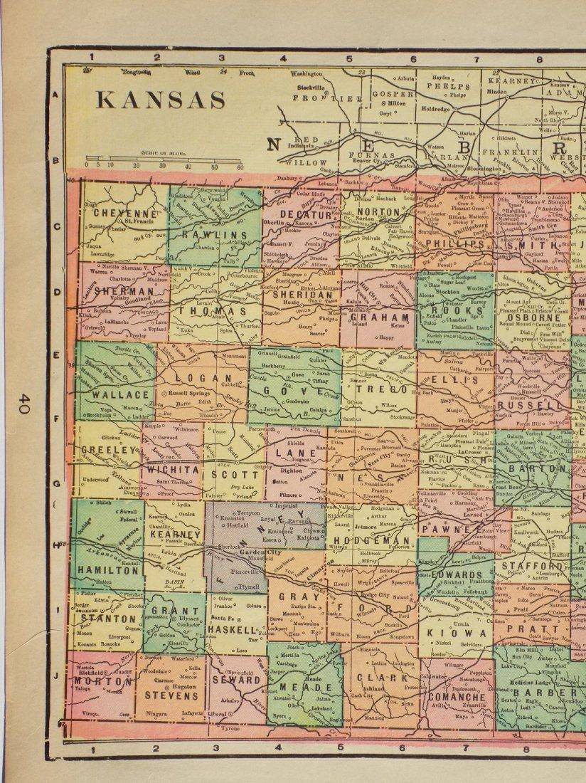 Map of Kansas, 1902 - 2
