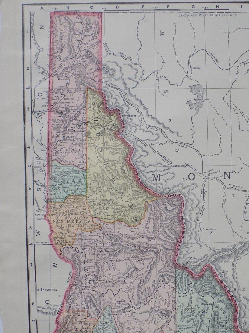 Map of Idaho, 1895 - 2