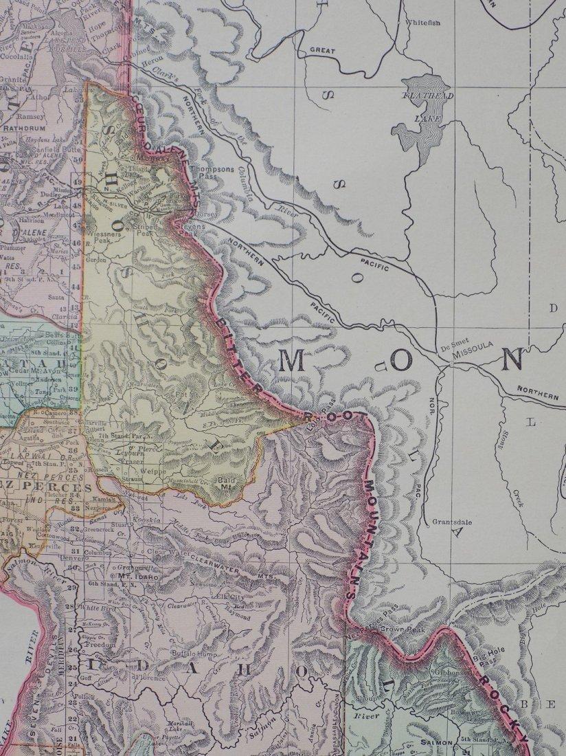 Map of Idaho, 1895 - 3