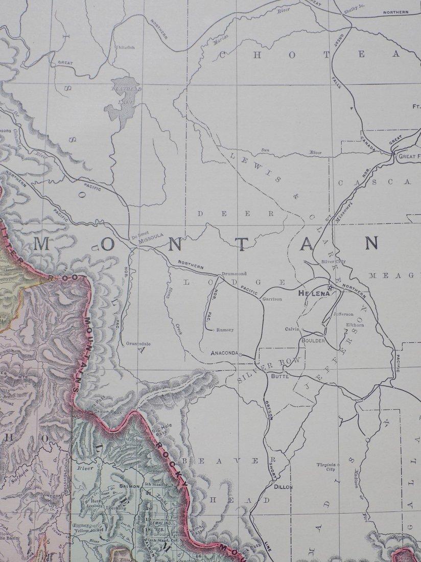 Map of Idaho, 1895 - 4
