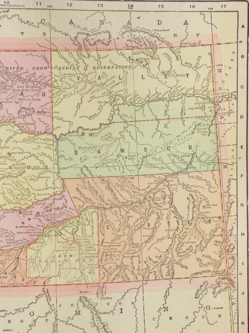 Map of Montana, 1902 - 4