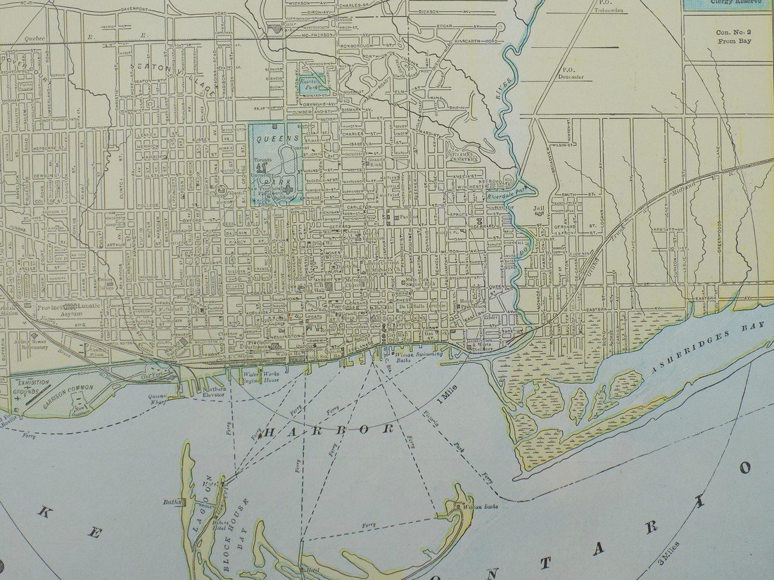 Map of Toronto, 1902 - 2
