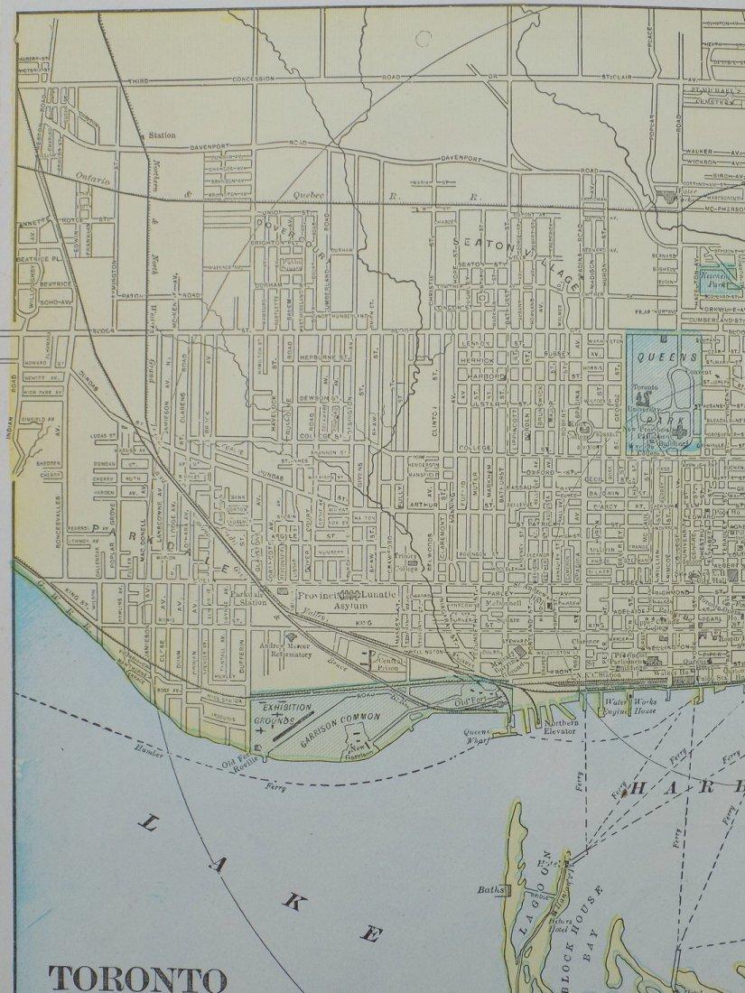 Map of Toronto, 1902 - 3