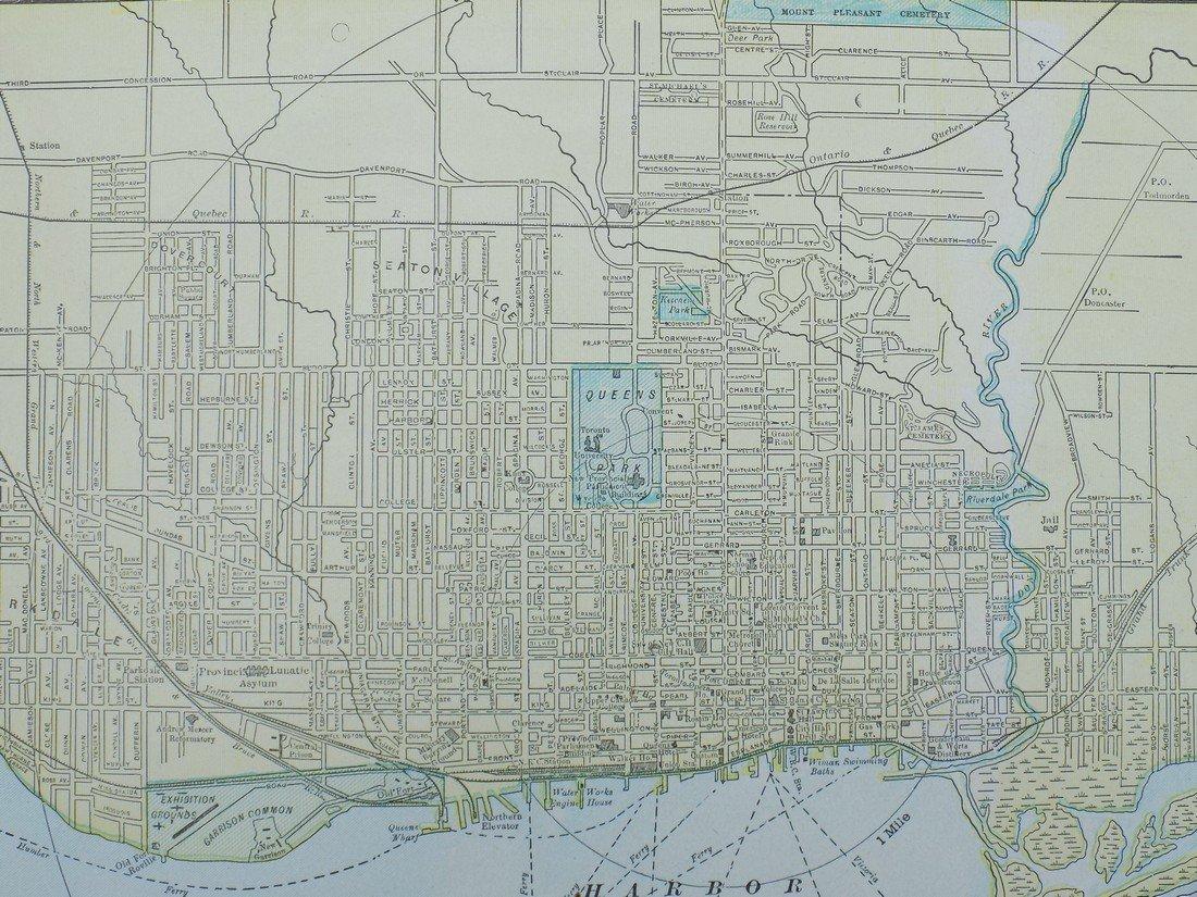 Map of Toronto, 1902 - 5